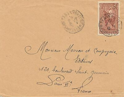 French colonies: Madagascar 1935: letter to Paris