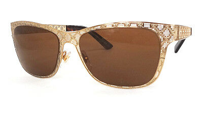2f46c6b5f6932 GUCCI Women s Sunglasses GG4267 Metal Gold 54-16-135 MADE IN ITALY - New