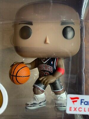 Funko POP Sports: Michael Jordan Black Alternate Jersey #55 Fanatics Exclusive