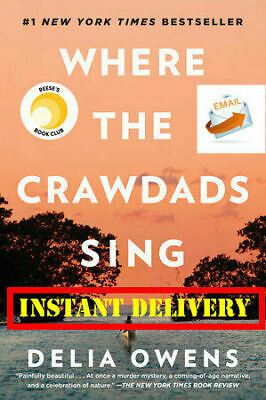 🔥Where the Crawdads Sing BY Delia Owens 🔥 [P-D-F]⚡FastDelivery 📧📧