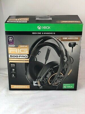 Plantronics RIG 500 PRO HX Wired Gaming Headset for Xbox One - Black