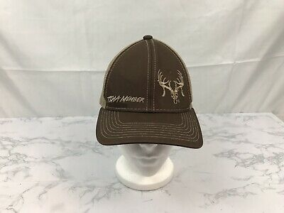 new style dcd47 2f926 Browning Trucker Hat Baseball Cap Brown Hunting Fishing Outdoor Snapback  Mesh