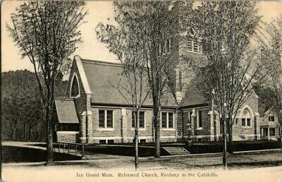 EARLY 1900'S. REFORMED CHURCH. CATSKILL MTNS. NY POSTCARD t5