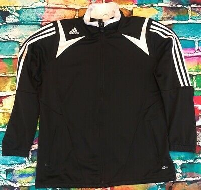 5bfb1243c16 Adidas Tiro Soccer Full Zip Black Training Jacket Womens Size XL A+  Condition