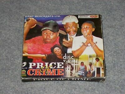 PRICE OF CRIME African Movie DVD Digitally Mastered Lagos, Giant Merchant, Rare!