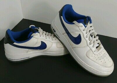 sports shoes c14e4 b7861 Rare NIKE AIR FORCE ONE AF1 2013 PENNY HARDAWAY Whiye Blue 630932-100 Mens 8