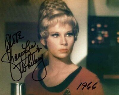 GRACE LEE WHITNEY SIGNED AUTOGRAPHED 8x10 PHOTO RAND STAR TREK TOS BECKETT BAS