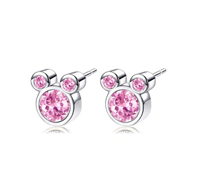 7d476dc0b BRAND NEW MICKEY Mouse Minnie Earrings Disney Stud Sparkle Pandora Silver -  $9.09 | PicClick