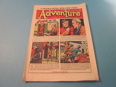 Vintage Adventure Comics. December 1954. Issue 1562. Good Condition