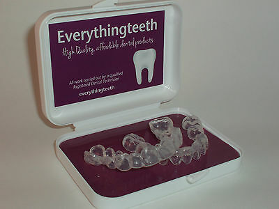 Seal & Reservoirs Professional Teeth Whitening / Bleaching Trays - Custom Fit