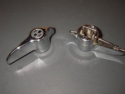 Lever Type Vise Grip Faucet Replacement Handles Pair