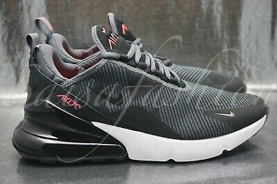 buy popular 8a4d7 1ea90 Nike Air Max 270 KJCRD GS Grey  Hot Punch  Boys  Grade School AR0301