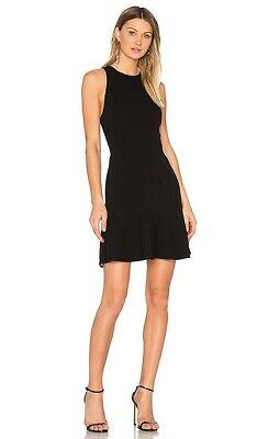 24914f3f40 THEORY FELICITINA BONDED black cherry fit & flare dress new with tag ...