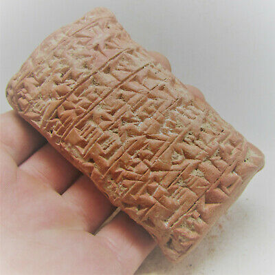 Circa 3000Bce Ancient Near Eastern Clay Tablet Early Form Of Writing Rare