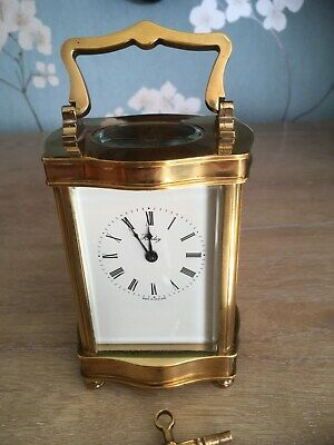 Top Quality Henley English 8 Day Solid Brass Carriage Clock