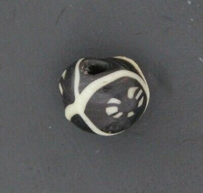 Ancient Glass Bead. Byzantine/Viking Period. Millefiori Mosaic Glass Bead V21