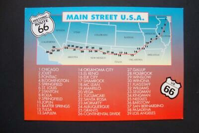 Historic Route 66 Americas Mainstreet Mother Road USA Badge Pin Anstecker 0570