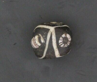 Ancient Glass Bead. Byzantine/Viking Period. Millefiori Mosaic Glass Bead V6