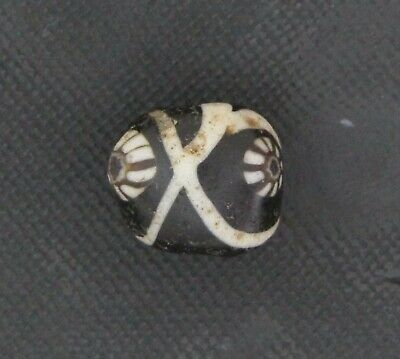 Ancient Glass Bead. Byzantine/Viking Period. Millefiori Mosaic Glass Bead V22