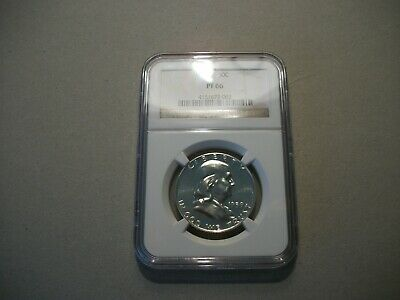1959 NGC PF 66 50c Silver Proof Franklin Half Dollar