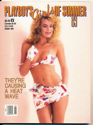 Playboy'S Girls Of Summer: They'Re Causing A Heat Wave - 1989