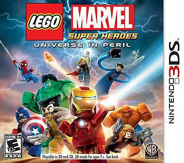 LEGO Marvel Super Heroes - Universe in Peril (Nintendo DS, 2014) *Complete*