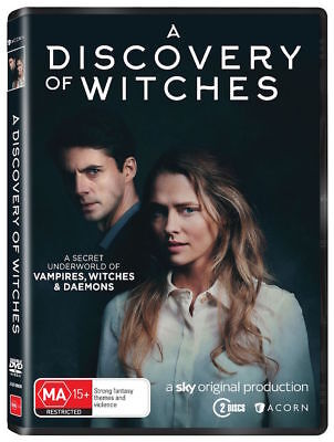 A DISCOVERY OF WITCHES season 1 (DVD, 2-Disc) - NEW & SEALED - FREE SHIPPING AUS