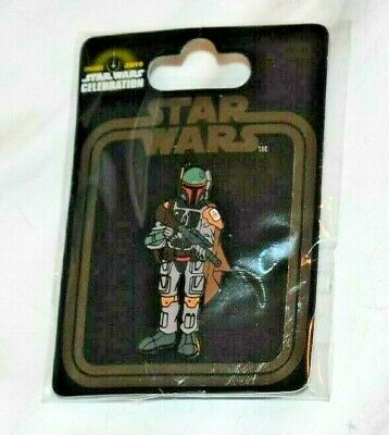 Star Wars Celebration Chicago 2019 Exclusive Boba Fett Pin! Gift With Purchase!