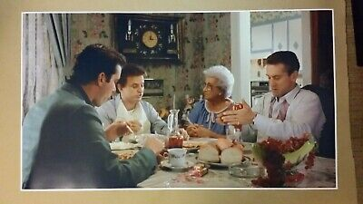 """Goodfellas GIANT WIDE 24""""x42"""" Movie Poster Itailian Dinner Man Cave Gangster"""