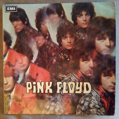 """Pink Floyd - The Piper At The Gates Of Dawn 1St Uk No """"File Under"""" Text P1 G1"""