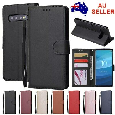 Flip Magnet Leather WALLET Stand Case Cover for Samsung S10e S10 S9 Plus Note 9