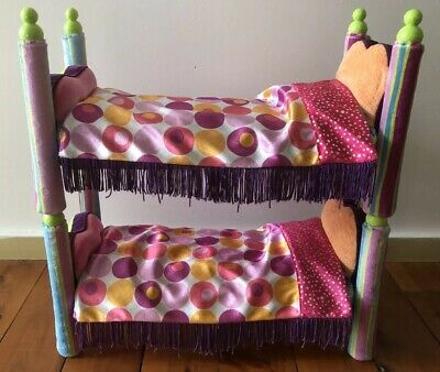 Groovy Girls Manhattan Bombastic Toy Bunk Bed Rare Collectible