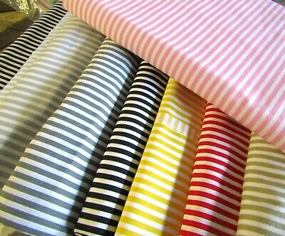 Striped fabric 100 Cotton 10 colors 5/5mm Stripes Fabric Ticking Fabric Curtain