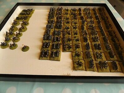 Painted French Army. Heroics and Ros. 6mm. About 76 bases.
