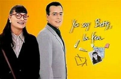 YO SOY BETTY LA FEA ,Ecomoda,completa en 32 DVDS,