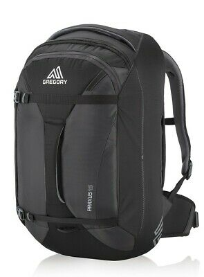 Gregory Praxus 45 in Black - Carry on Friendly BackPack ideal for Light Trips