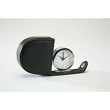 Small Travel Analogue Alarm Clock with Folding Case