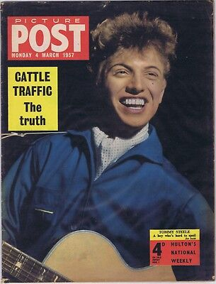 Picture Post magazine 4 March 1957, A One Way Trip to the Continent, Blonde Ava