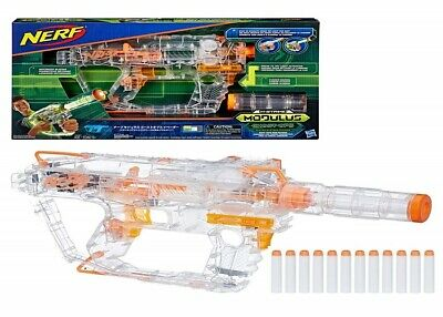 Evader Modulus Nerf Motorized Light-Up Ghost Ops Blaster Ages 8+ Toy Gun Fire