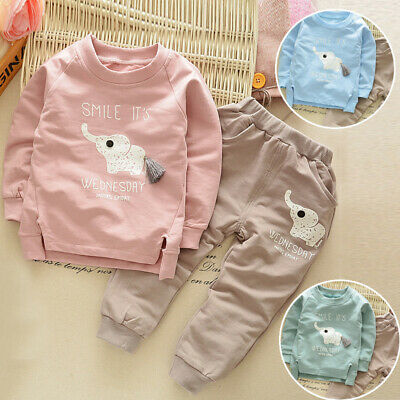 Spring Outfits Autumn Animal Print Boys' Newborn Toddler Baby Infant Clothing