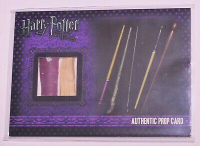 Harry Potter & the Deathly Hallows Part 1 Wands from Gregorovitch's Prop Card