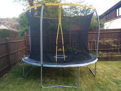 10ft TRAMPOLINE WITH SAFETY NET / LADDER / COVER. BRISTOL WESTON SUPER MARE AREA