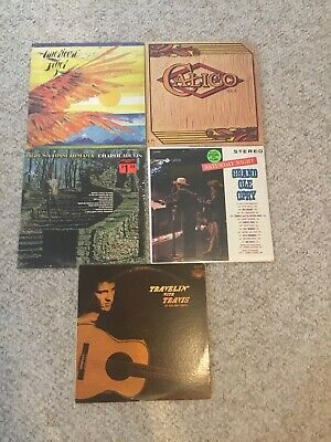 """CLASSIC ROCK LOT OF 5 LPS Vinyl Record Lot 12"""" Lps Albums Country 2 Sealed"""