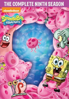 Spongebob Squarepants DVD Ninth Season 9 Children Kids Show English 4 Disc Set