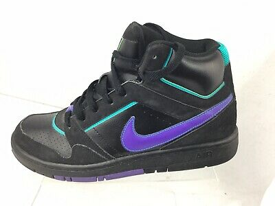 new concept e7cee c0ad9 Nike Air Prestige III High Top - Black Purple Teal - 407036-053 - Size
