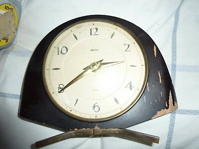 Art- Deco Smiths 8 Day Mantle Clock
