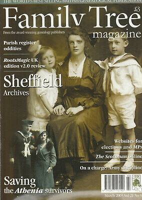 FAMILY TREE Magazine March 2005 - Sheffield Archives