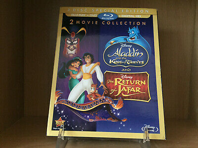 Aladdin II & III: King of Thieves & Return of Jafar [Blu-Ray | DVD] No Digital