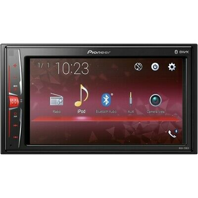 "Pioneer MVH-210EX 6.2"" Double DIN In-Dash Multimedia A/V Receiver with Bluetooth"