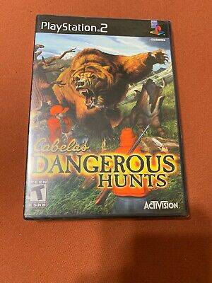 Cabela's Dangerous Hunts (Sony PlayStation 2) *NEW - SEALED - BLACK LABEL*